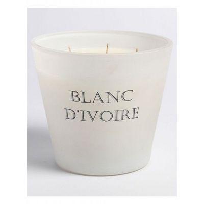 BLANC D'IVOIRE - Bougie parfum�e-BLANC D'IVOIRE-L'Envoutant