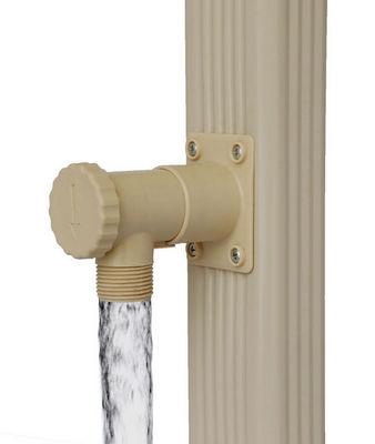 jardieco - Collecteur d'eau de pluie-jardieco-Collecteur d'eau blanc pour descente rectangulair