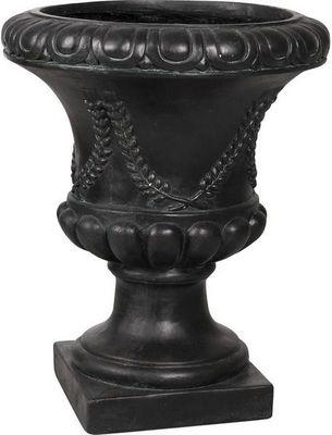 Aubry-Gaspard - Vase Medicis-Aubry-Gaspard-Vase Antique en fibre de verre noir