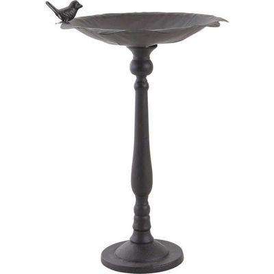 Aubry-Gaspard - Bain d'oiseau-Aubry-Gaspard-Bain Oiseaux sur pied en Fonte