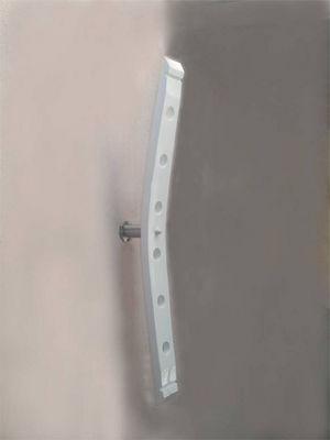 Douelledereve - Range-bouteilles-Douelledereve-Porte bouteilles en chêne finition blanc laqué 8x5
