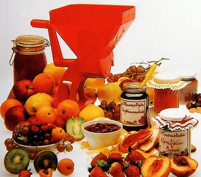 Chevalier Diffusion - Moulin à légumes-Chevalier Diffusion-Moulin à tomates fruits légumes velox rouge