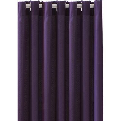 TODAY - Rideaux prêts à poser-TODAY-Rideau occultant à oeillets Deep purple