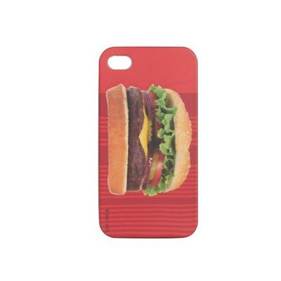 DCI - Coque de t�l�phone portable-DCI-Housse pour Iphone 4 Hamburger