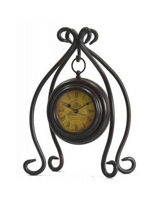 L'HERITIER DU TEMPS - Horloge à poser-L'HERITIER DU TEMPS-Horloge à Poser en Fer 28cm