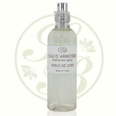 Savonnerie De Bormes - Parfum d'intérieur-Savonnerie De Bormes-Eau d'armoire - Perle de soie - 100 ml - Savonner