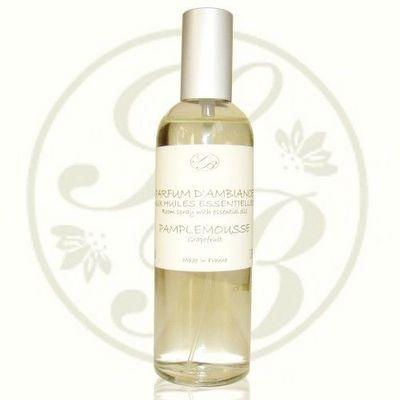 Savonnerie De Bormes - Parfum d'intérieur-Savonnerie De Bormes-Parfum d'ambiance aux Huiles Essentielles de pamp