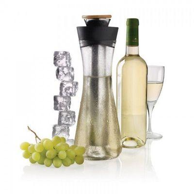 XD Design - Carafe à vin-XD Design-Carafe vin blanc Gliss Noir