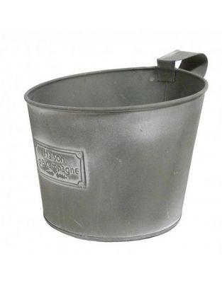 L'HERITIER DU TEMPS - Jardinière-L'HERITIER DU TEMPS-Pot Jardinière en fer gris