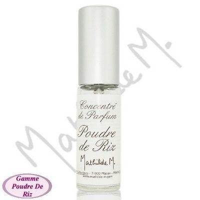 Mathilde M - Essences parfumées-Mathilde M-Concentré de parfum mini spray - Poudre de Riz - 5
