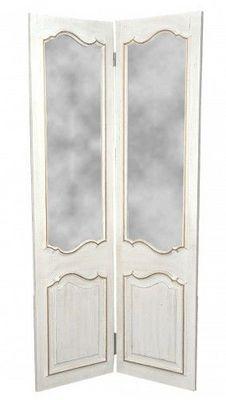 Demeure et Jardin - Paravent-Demeure et Jardin-Paravent Miroir à 2 Feuilles