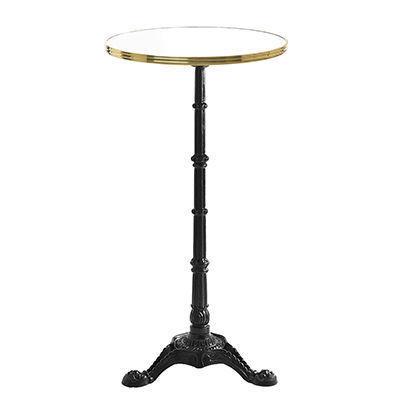 Ardamez - Mange debout-Ardamez-Mange debout émaillé rond / table haute / blanc