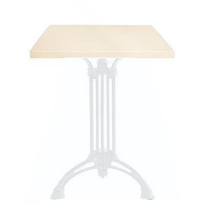 Ardamez - Plateau de table-Ardamez-Plateau de table émaillé sur acier / ivoire