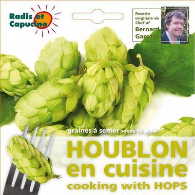 Radis Et Capucine - Potager d'intérieur-Radis Et Capucine-Sachet de graines de Houblon comestible