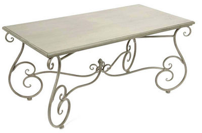 Amadeus - Table basse rectangulaire-Amadeus-Table basse m�tal Coeur