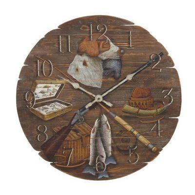 Interior's - Horloge murale-Interior's-Horloge Chasse et pêche