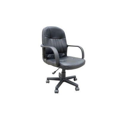 WHITE LABEL - Fauteuil de bureau-WHITE LABEL-Chaise de bureau classique noir