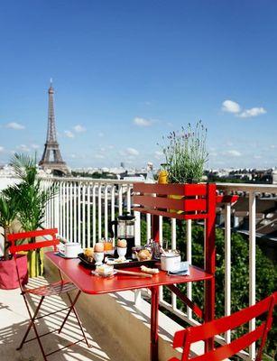 Fermob - Table de jardin-Fermob-Table balcon--