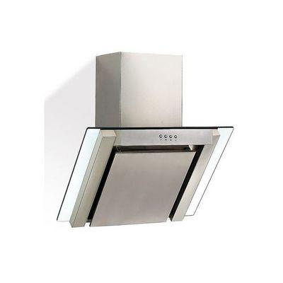 WHITE LABEL - Hotte aspirante de plafond-WHITE LABEL-Hotte aspirante cheminée inox verre