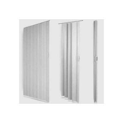 WHITE LABEL - Porte pliante-WHITE LABEL-Porte accordéon pliante extensible PVC