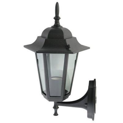 WHITE LABEL - Lanterne potence-WHITE LABEL-Lampe murale de jardin éclairage extérieur