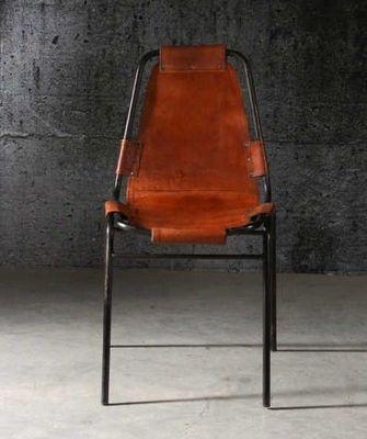 Mathi Design - Chaise-Mathi Design-Chaise Savane en cuir