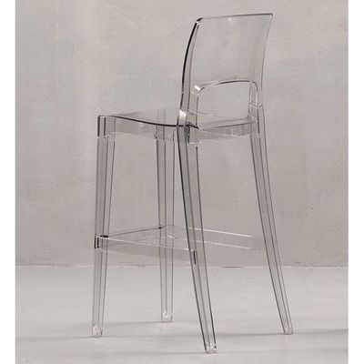 Mathi Design - Chaise haute de bar-Mathi Design-Tabouret transparent Easy