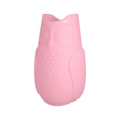 SLIDE - Lampe à poser enfant-SLIDE-BUBO - Lampe Hibou Rose H26cm   Lampe à poser Slid