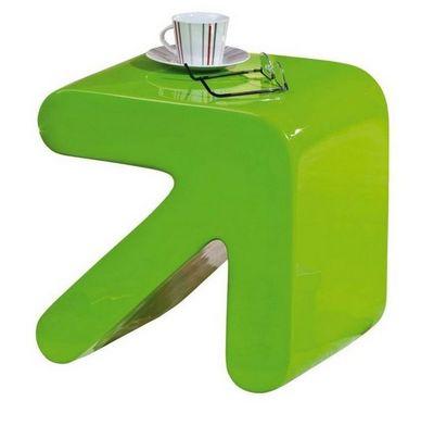 WHITE LABEL - Table d'appoint-WHITE LABEL-Table d'appoint design ERATI verte