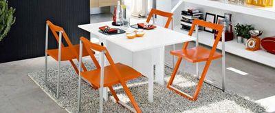 Calligaris - Console extensible-Calligaris-Table console modulable SPIAZO de CALLIGARIS blanc