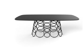 Bonaldo - Table de repas rectangulaire-Bonaldo-HULAHOOP