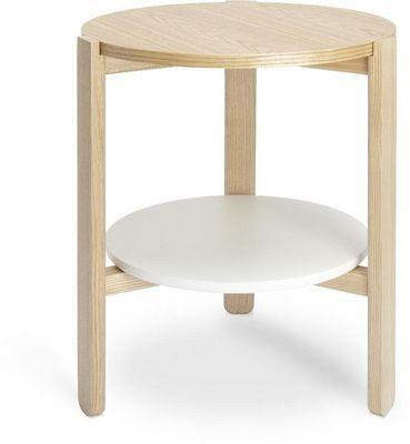 Umbra - Table d'appoint-Umbra-Table ronde en bois Hub