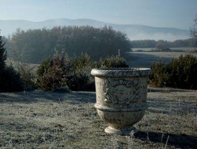 TERRES D'ALBINE - Bac � fleurs-TERRES D'ALBINE-Vase Languedocien