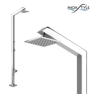 INOXSTYLE - Douche d'extérieur-INOXSTYLE-Tecno Cube ML Stylo