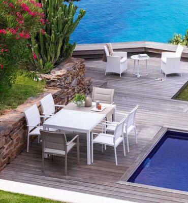 ITALY DREAM DESIGN - Table de jardin à rallonges-ITALY DREAM DESIGN-Sense