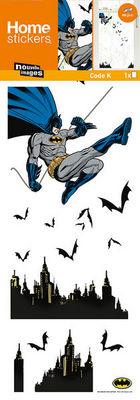 Nouvelles Images - Sticker Décor adhésif Enfant-Nouvelles Images-Sticker fenêtre Batman