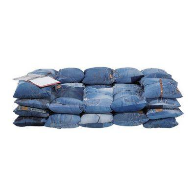 Kare Design - Canapé 3 places-Kare Design-Canapé Jeans
