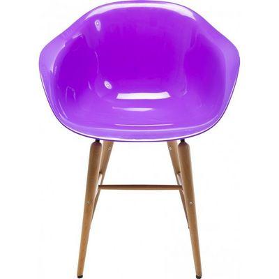 Kare Design - Chaise-Kare Design-Chaise avec accoudoirs Forum violette