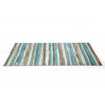 Kare Design - Tapis contemporain-Kare Design-Tapis Design Stripes Aqua 170x240