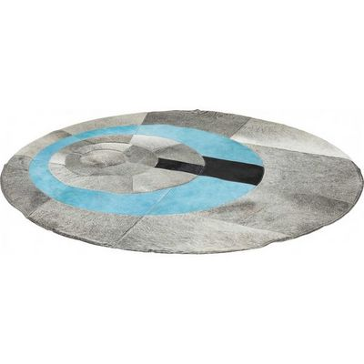 Kare Design - Tapis contemporain-Kare Design-Tapis Rond Art Circles 150 cm