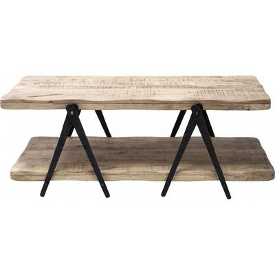 Kare Design - Table basse forme originale-Kare Design-Table Basse en bois Scissors 120x65cm