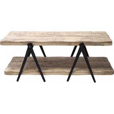 Kare Design - Table basse forme originale-Kare Design-Table Basse en bois Scissors 120x65cm