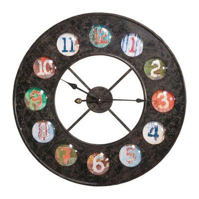 Kare Design - Horloge murale-Kare Design-Horloge Vintage Colour 70
