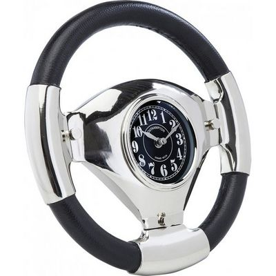 Kare Design - Horloge murale-Kare Design-Horloge de table Steering Wheel