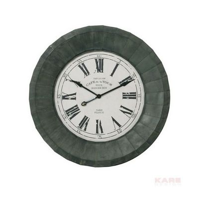 Kare Design - Horloge murale-Kare Design-Horloge Paris Iron