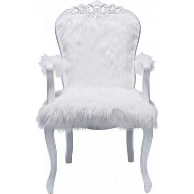 Kare Design - Fauteuil-Kare Design-Fauteuil Baroque Romantico Fur