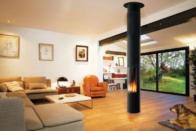 slimfocus po le gaz focus decofinder. Black Bedroom Furniture Sets. Home Design Ideas
