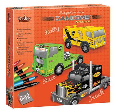 Crea Lign' - Maquettes-Crea Lign'-Maquette d�co Camions
