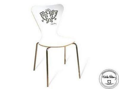 Mathi Design - Chaise-Mathi Design-chaise_Keith_Haring_Angel