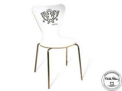 Mathi Design - Chaise-Mathi Design-chaise_Keith_Haring_Angel
